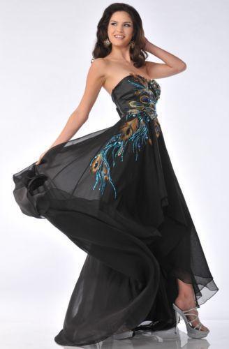 Peacock Prom Dress - eBay