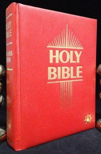 Holy Bible Master Reference Edition Red Letter Edition (Hardcover, 1969) Omega