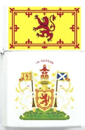 Royal Scottish Scotland Lion King Family Clan Scots Heraldry Flag Lighter Case