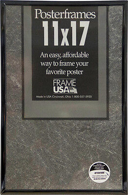 11x17 Poster Frame Pack of 6 - Black, Silver, Gold, Clear