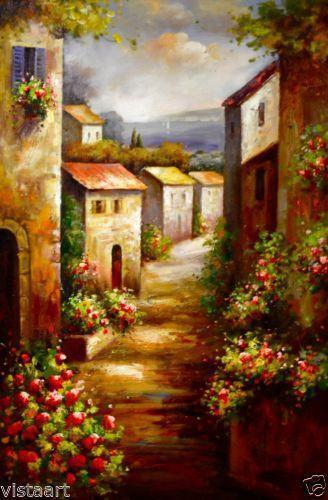 Tuscan Canvas Art Ebay