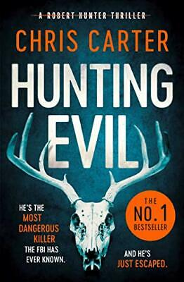 Hunting Evil by Chris Carter New Paperback Book