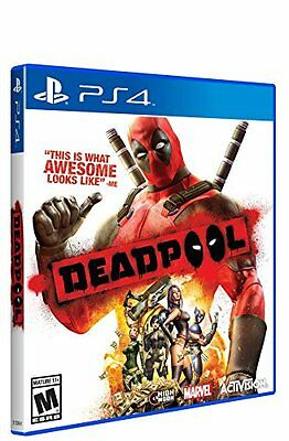 $38.70 - Deadpool - PlayStation 4 Brand New Ps4 Games Sony Factory Sealed Activision 2015