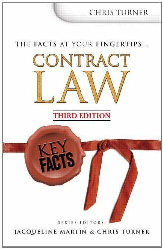 Key Facts: Contract Law,Jacueline Martin