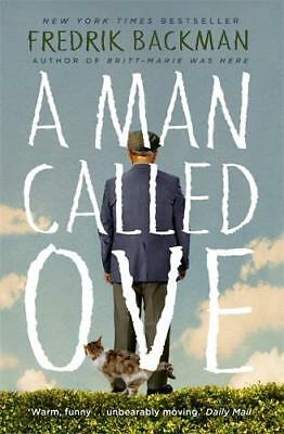 A Man Called Ove, Backman, Fredrik, New, Book