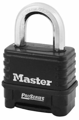 Master Lock 1178d Combination Padlock Bottom Blacksilver