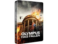 Olympus has Fallen Limited Edition Blu-Ray Steelbook (UK Release) - NEW