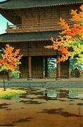 Woodblock Temple