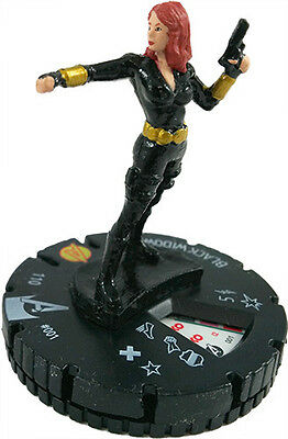 Black Widow (001) Marvel HeroClix M/NM with Card Avengers Assemble