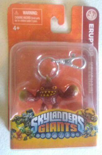 Activision Skylanders Giants Eruptor Keychain Figure
