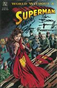 Death of Superman Signed