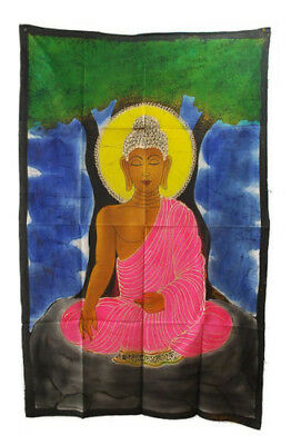 Batik Hanging of Buddha 115x 74cm Hanging Wall 19