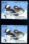 Used State Duck Stamps