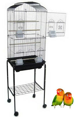 "63"" New Large Tall Canary Parakeet Cockatiel Lovebird Finch Bird Cage Stand 149"