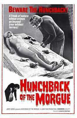 Hunchback Of Morgue Poster 01 Metal Sign A4 12x8 Aluminium - Morgue Sign