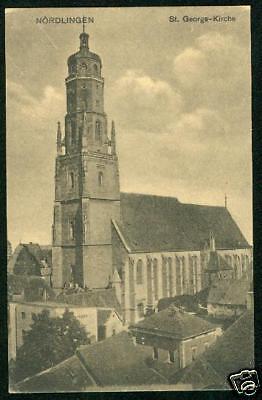 Nördlingen, St. Gerogs-Kirche, um 1920