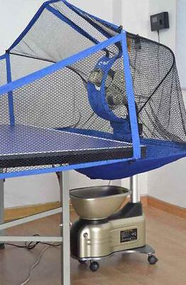 NEW Table Tennis Robot Balls Picker Ping Pong Auto Ball Training Machine 08 T