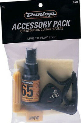Dunlop Accessory Pack for Acoustic Guitar Players GA20 ()