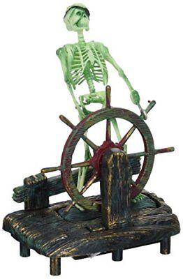 - Penn-Plax Skeleton At The Wheel