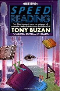 Speed Reading: Third Edition (Plume) by Tony Buzan