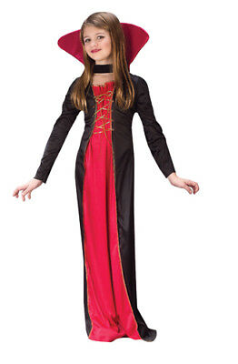 Victorian Vampiress Girl Child Halloween Costume