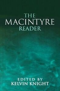 USED (VG) The MacIntyre Reader by Alasdair C. MacIntyre