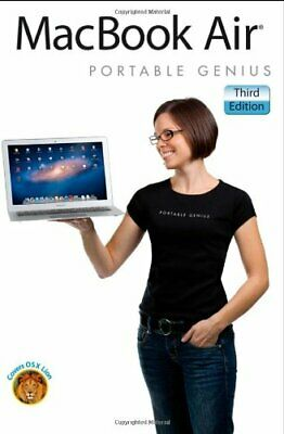 MacBook Air Portable Genius By Paul McFedries. 9781118186183 for sale  Shipping to India