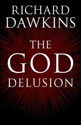 The God Delusion, Richard Dawkins Hardback Book The Cheap Fast Free Post