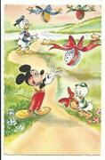 Mickey Mouse Postcards
