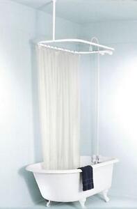 Merveilleux Clawfoot Tub Shower Curtain