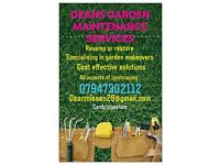Garden landscape maintenance services🏡🛠🌲⚘♻