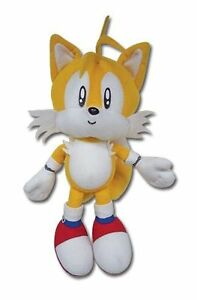 New-Authentic-7-Tails-GE-Animation-Sonic-Classic-Stuffed-Plush-Doll-GE-7089-NWT