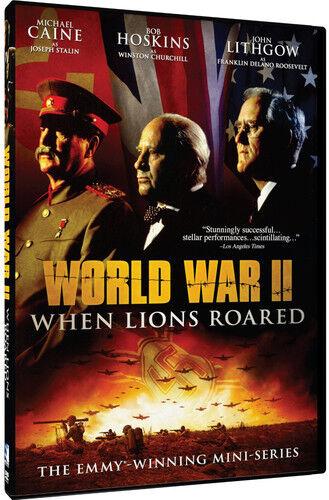 World War Ii: When Lions Roared Mini Series (2016, DVD NEW)