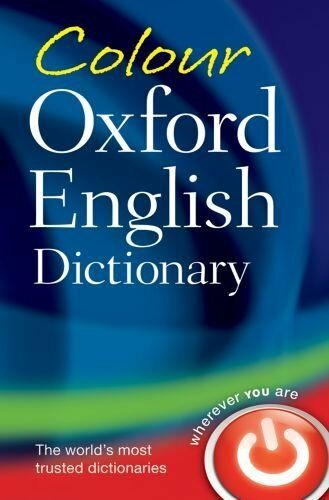 Colour Oxford English Dictionary,Oxford Dictionaries