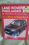 Haynes Workshop Manual Freelander