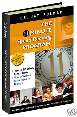 Be a speed reader in 11 min. guaranteed - speed reading
