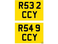Audi RS3 & RS4 Cherished HIS & HERS PAIR matching number plates Golf VW RS32 R32