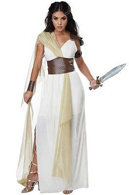 California Kostüm Spartan Warrior Königin Erwachsene Damen Halloween 01446