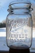 Ball Perfect Mason Square Jar