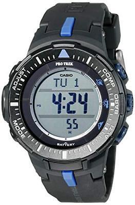 300 Black Resin Watch - Casio Pro Trek Men's Quartz Black Resin Band 47mm Watch PRG300-1A2