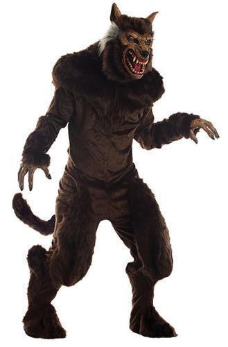 Aninimal Book: Deluxe Werewolf Costume | eBay