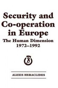 Security and Co-operation in Europe, Alexis Heraclides