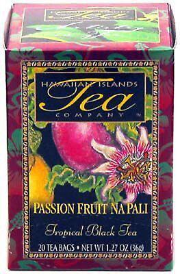 HAWAIIAN PASSION FRUIT NA PALI BLACK TEA ~ 6 BOXES