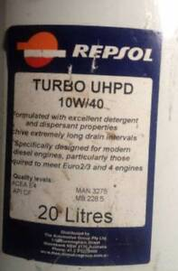 REPSOL UHPD (Ultra High Performance Diesel) synthetic 20lt Bargo Wollondilly Area Preview
