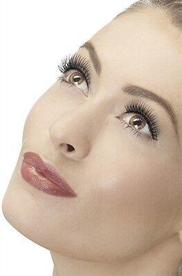 Eyelashes Black Natural Lengthen New Adult Halloween Cristmas Womens Sexy Makeup - Natural Halloween Makeup