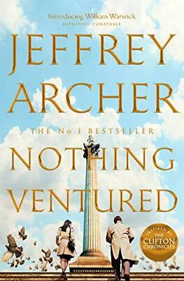 Nothing Ventured New Hardcover Book