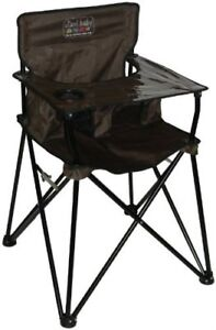 ciao! baby - PORTABLE BABY HIGHCHAIR - BROWN