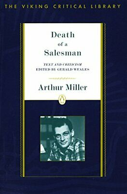 Vcl: Death of a Salesman (The Viking critical library).by Miller, Weales New<|
