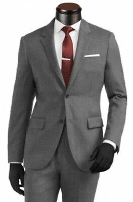 CUSTOM MADE TO MEASURE HAND TAILORED MENS BESPOKE SUIT IN PREMIUM QUALITY FABRIC