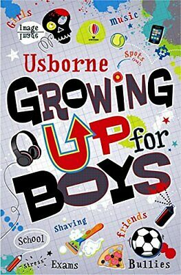 Usborne Growing Up For Boys Collection Paperback By Alex Frith & Felicity Brooks
